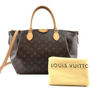 Louis Vuitton Turenne Gm with Long Strap Satchel